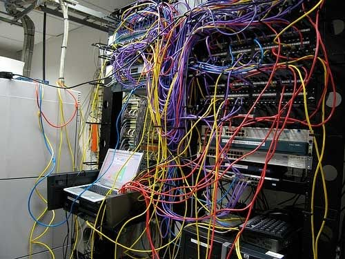 Does your server room look like this?